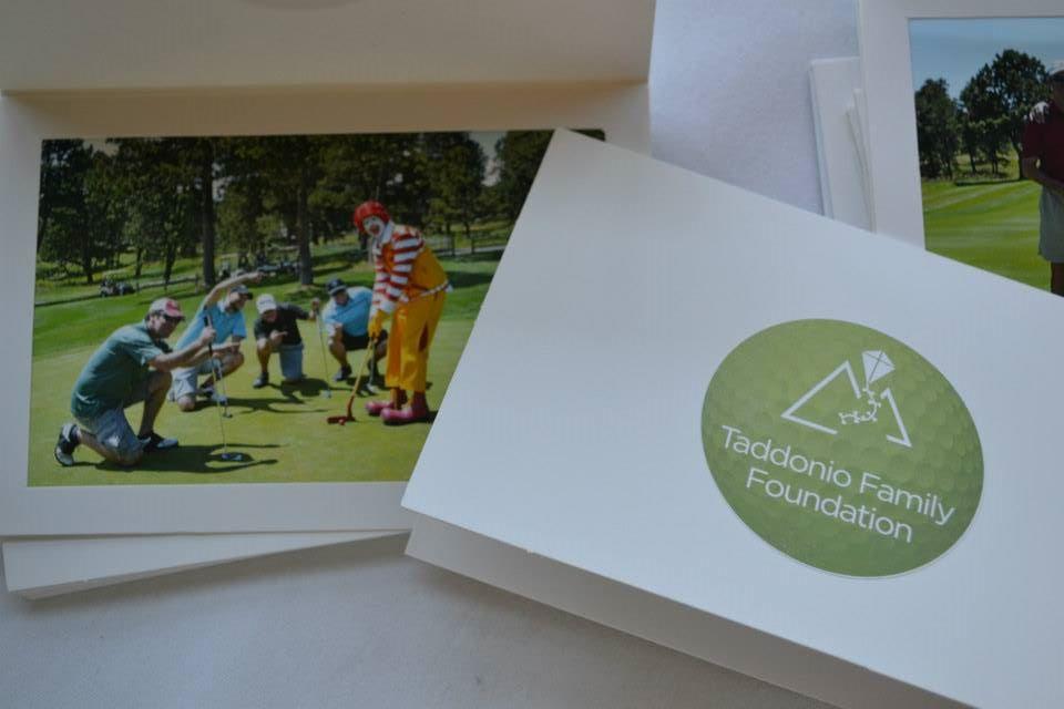 Keepsake photo from Taddonio Family Foundation Golf Tournament